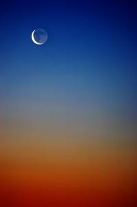sky with moon