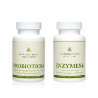 Micronutrient Solutions - Digestive Bundle - Enzymes Plus+, Probiotics Plus+